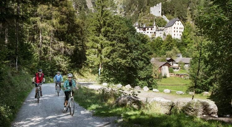 Imst Gurgltal Mountainbike ©Tirol Werbung / Bauer Frank
