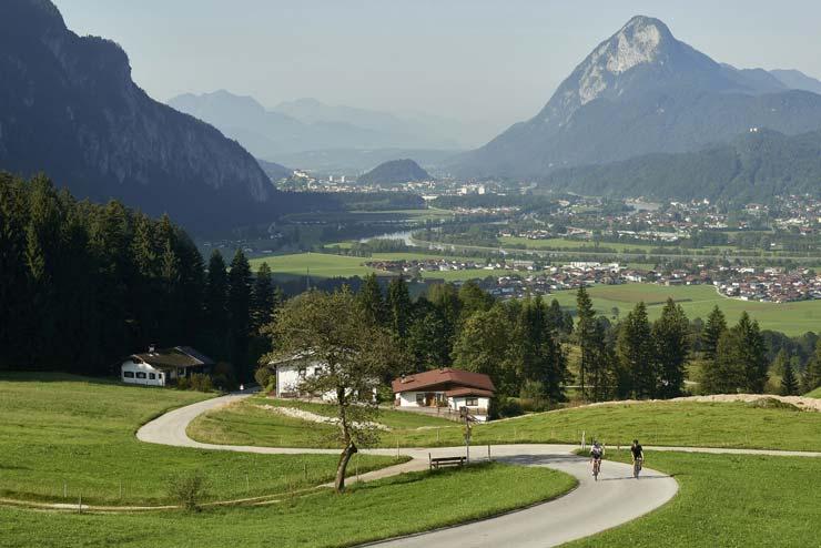 Ebbs, Buchberg, Richtung Aschinger Alm ©Tirol Werbung / Marshall George
