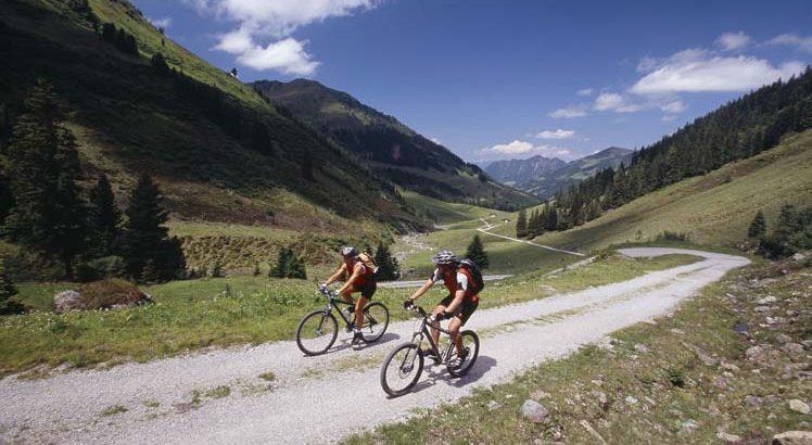 Alpbachtal Mountainbike ©Alpbachtal Seenland Tourismus