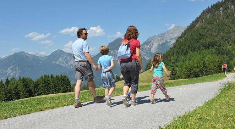 Alpbachttal Wandelen ©Alpbachtal Seenland Tourismus / Grießenböck Gabriele