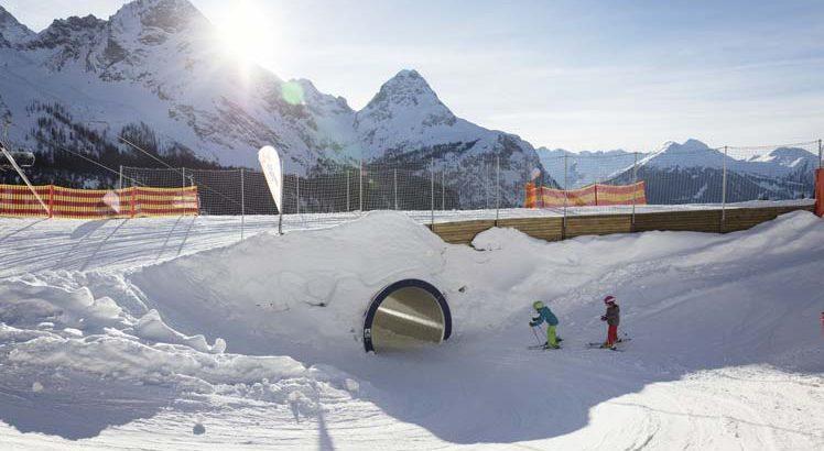 Tiroler ZugspitzArena Wintersporten ©Tirol Werbung / Hörterer Lisa