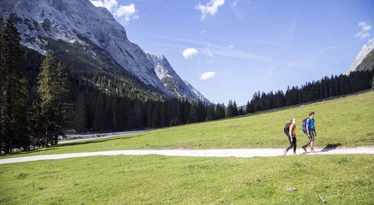Tiroler ZugspitzArena Wandelen ©Tirol Werbung / Gigler Dominik