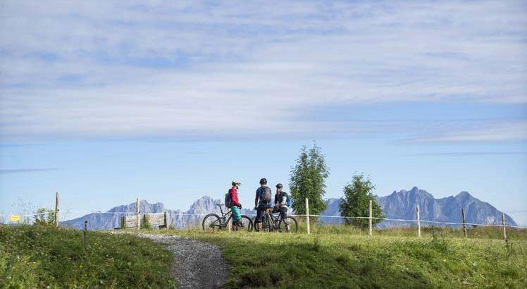 Kitzbüheler Alpen Mountainbike ©Tirol Werbung / Neusser Peter